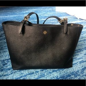 Large Tory Burch York tote Black